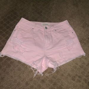 Pacsun denim shorts